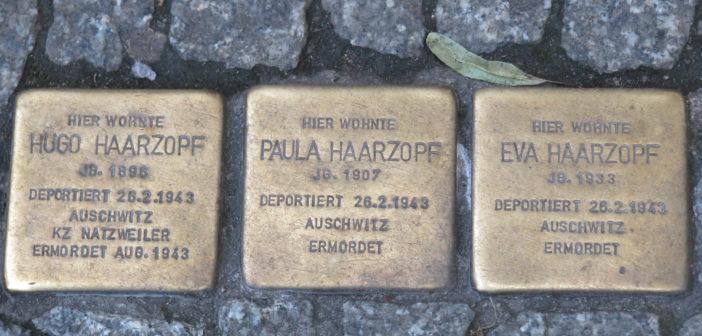Les communautés juives d'Anvers et de Bruxelles s'opposent sur la pose des 'Pavés de la Mémoire'