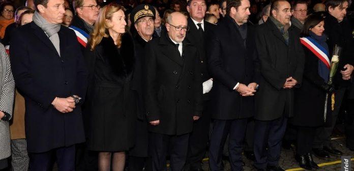 4 ans après l'attaque antisémite de l'Hyper Cacher: cérémonie en mémoire des victimes du terrorisme