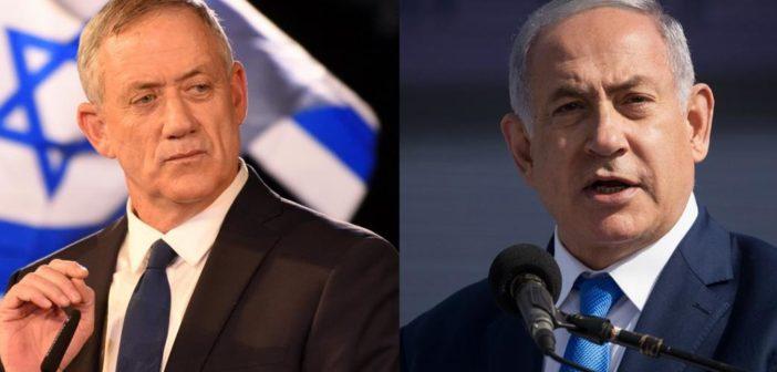 """Un gouvernement d'union nationale sous peu en Israël après la décision de Benny Gantz de rejoindre Benjamin Netanyahou """"pour faire face à la situation sanitaire"""""""