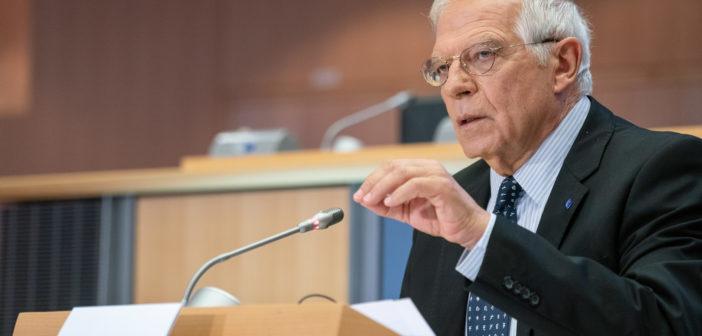 Formation d'un gouvernement en Israël: Joseph Borrell n'a pas reçu l'aval des 27 états membres pour sa déclaration