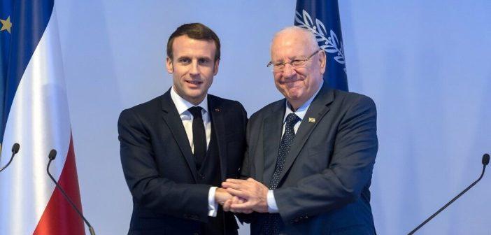 Le président israélien Rivlin s'entretient au téléphone avec le président Macron à propos de la crise du coronavirus