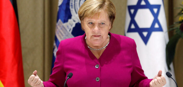 La chancelière allemande Angela Merkel se rend en Israël dimanche pour une visite d'adieu